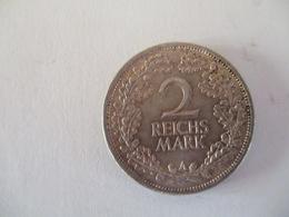 Germany 2 ReichMark 1926 A - [ 3] 1918-1933 : Weimar Republic