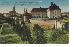 SPEYER A. Rh. Alte Stadtmauer U. Zeppelin.Schule - Speyer