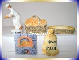 Paul 2005 ... Serie Complète De 5 Fèves Personalisées ...Ref AFF : 20-2005 ... ( Pan 0042) - Antiguos