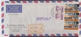 Irak, Lettre Rafidain Bank, Scan R/V. - Irak