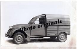 Autos Voitures Automobiles Cars - Photo De Presse Originale - CITROËN 2CV 2 CV Camionnette Type AU AZU - Années 50 - Cars