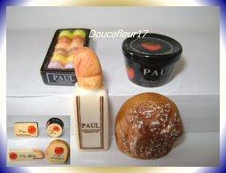 Paul 2009 Les 120 Ans .. Serie Complète De 4 Fèves Personalisées ...Ref AFF : 27-2009 ... ( Pan 0042) - Antiguos