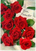 Rose Di Buon Onomastico. VG. - Fiori