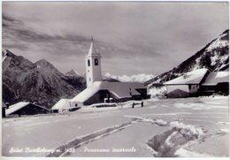 Saint Barthelemy (Ao). Panorama Invernale. VG. - Italia