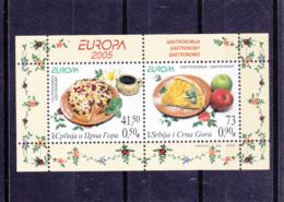 2005 - Serbie Et Montenegro - Serbija I Crna Gora  - Europa Cept - N°YT BF62** - Europa-CEPT