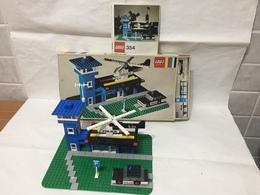 LEGO LEGOLAND STAZIONE DI POLIZIA SET 354 VINTAGE COMPLETO SCATOLA E ISTRUZIONI - Lego System