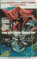 UK - Mercury Overseas - James Bond 007 - The Spy Who Loved Me - MEB005 - 20MERB - 1.044ex, Used - [ 4] Mercury Communications & Paytelco