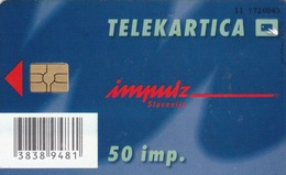 SLOVENIA - Na Parkirnih Avtomatih NM, KR, GO (parking Machines, Chip:GEM5 (Red), Tirage 10000, 08/02, Used - Slovénie