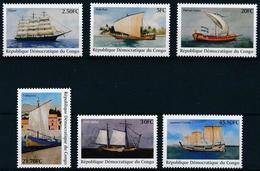 Congo 2001 History Of Shipping MNH - Dem. Republik Kongo (1997 - ...)