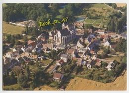 {58084} 91 Essonne Saint Sulpice De Favières , Le Village , La Basilique ; Vue Aérienne - Saint Sulpice De Favieres