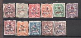 Maroc N°37 à 47 N* TB Cote 45 Euros !!! - Unused Stamps