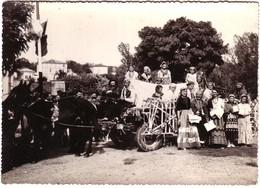 CASTELSARRASIN -.Grande Photo : Fête Du Gravil 1949, Char Des Bohémiens... - Castelsarrasin