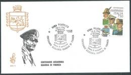 1996 ITALIA FDC VENETIA 873 GUARDIA DI FINANZA NO TIMBRO ARRIVO - BF - F.D.C.