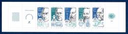 """France 1986 Carnet BC2400A """"Physiciens, Chimistes, Ingénieurs"""" Neuf** Non Plié TB, Ex N°1   1,30 € (faciale 1,83 €) - Booklets"""