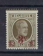 245-Cv6** Luppi Houyoux : Bord De Couleur Dans La Dentelure (décentrage) - Errors (Catalogue Luppi)