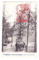PK 2x Tiegem Anzegem - Sint-Arnolduskapel 1903 / Huisje Vd Boswachter Maison Du Garde-Bois 1907 - Anzegem