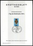 BRD - 1975 ETB 18/1975 - Mi 866 - 10Pf              Tag Der Briefmarke 75 - [7] República Federal