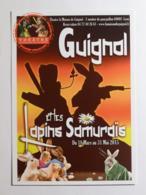 GUIGNOL DE LYON - Marionnette / Lapin - Guignol Et Les Lapins Samuraïs - Carte Postale Publicitaire Du Théâtre Guignol - Théâtre