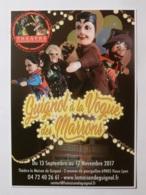 GUIGNOL DE LYON / MARIONNETTE - Guignol A La Vogue Des Marrons - Fete Foraine - Carte Publicitaire - Théâtre