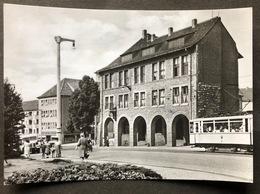 Nordhausen Stadthaus /Strassenbahn - Nordhausen