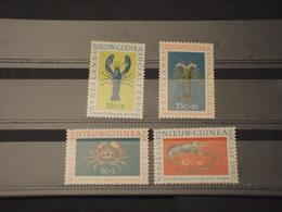 NUOVA GUINEA - 1962 FAUNA MARINA 4 VALORI - NUOVI(++) - Nuova Guinea Olandese