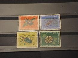 NUOVA GUINEA - 1961 INSETTI 4 VALORI - NUOVI(++) - Nuova Guinea Olandese
