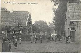 Moerbeke-Waas - Kruisstraat - Rue De La Croix. - Moerbeke-Waas
