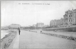 ! - France - Biarritz - La Promenade De La Plage - 2 Scans - Biarritz
