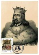 Portugal 2013 500 Anos Do Foral Manuelino De Almada Rei D. Manuel I Maxicard Carte Maximum - History
