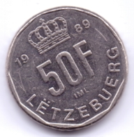LUXEMBOURG 1989: 50 Francs, KM 66 - Luxembourg