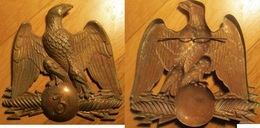 Copie D'insigne De Shako En Laiton - Casques & Coiffures