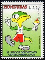 HONDURAS 1996 - 6th CENTRAL AMERICAN GAMES - MASCOTTE - MINT - Francobolli