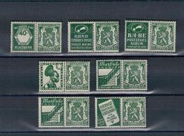 1936 - 1937 -  Petit Sceau De L'Etat - Reclame