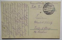 Munster Lager AK Wenn Die Liebe..., 1917 Nach Reetze Lüchow (52110) - Guerre 1914-18