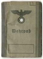 WEHRPASS Allemand 1939 - Papiers - 1939-45