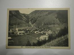 Suisse. Bellegarde (Jaun) Et Le Col Des Neuschels (8355) - FR Freiburg