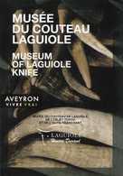 Carte Visites Passion °_ 12.Laguiole - Musée Du Couteau De Laguiole - 7x10 - Publicités