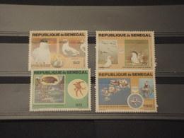 SENEGAL - 1981 FAUNA MARINA  4 VALORI - NUOVI(++) - Senegal (1960-...)