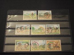 RWANDA - 1982 ALIMENTAZIONE 8 VALORI - NUOVI(++) - 1980-89: Nuovi