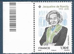 Jacqueline De Romilly (2020) Neuf** - France