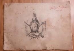 """ALBUM """" HISTORIQUE DU 9e REGIMENT CUIRASSIERS """" NOYON PELOTON ESCADRON ESCRIME MARECHAL-FERRANT GUERRE CUIRASSIER OISE - 1914-18"""