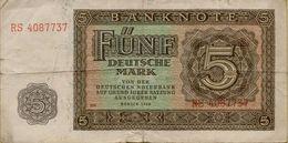 1948 DDR 5 Marks P#11b - 5 Deutsche Mark