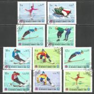 Yemen 1968 Year , Used Stamps  Sport - Yemen
