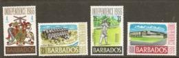Barbados  1966  SG  356-9  Independence  Unmounted  Mint - Barbados (1966-...)
