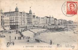 OSTENDE - La Digue Et La Plage - Oostende