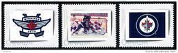 Canada (Scott No.PP7-9 - Jets De / Winnepeg / Jets) [**] Picture Postage /  Set Of 3 - Neufs