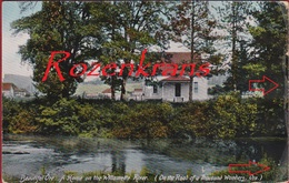 Willamette River Thousand Wonders Oregon United States RARE Old Postcard - Etats-Unis