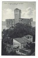 3180 - LERICI LO STORICO CASTELLO VISTO DAL POGGIO LA SPEZIA 1920 CIRCA - Altre Città