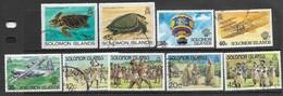 Solomon Islands   1983   9 Diff Used   2016 Scott Value $5.45 - Salomoninseln (Salomonen 1978-...)