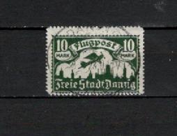 P.A. N° 10Aa TIMBRE DANZIG OBLITERE DE 1921       Cote : 55 € - Autres - Europe